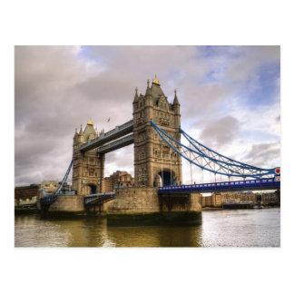 Carte Postale Pont de tour de Londres