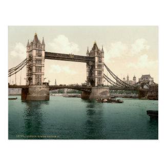 Carte Postale Pont de tour, Londres c.1895