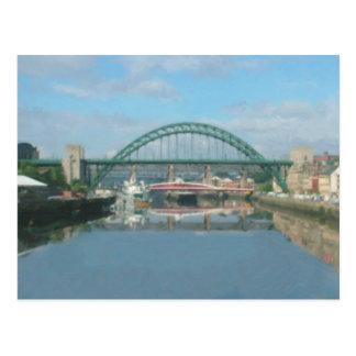 Carte Postale pont de Tyne (lumière du jour)
