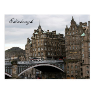 Carte Postale pont d'Edimbourg