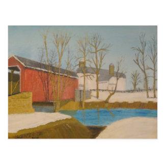 Carte Postale Pont du moulin de Zook - Lancaster