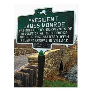 Carte Postale Pont en pierre du Président James Monroe