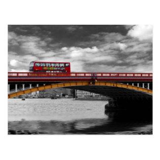 Carte Postale Pont la Tamise Londres de Vauxhall