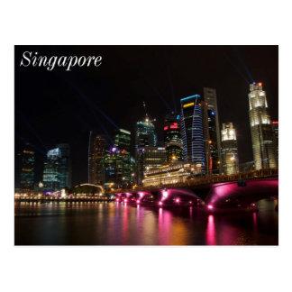 Carte Postale Pont Singapour d'esplanade