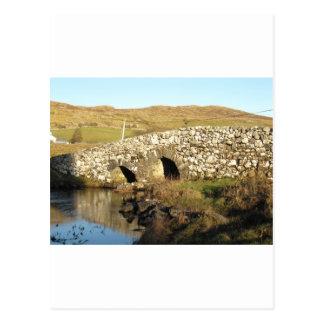 Carte Postale Pont tranquille d'homme