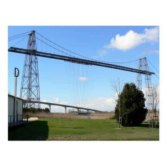 carte postale Pont transbordeur de Rochefort mer