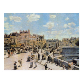 Carte Postale Pont vintage Neuf Paris France