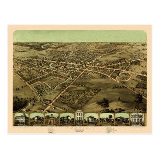 Carte Postale Pontiac Michigan 1867