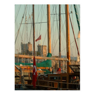 Carte Postale Port de Bodrum