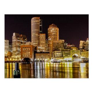 Carte Postale Port de Boston