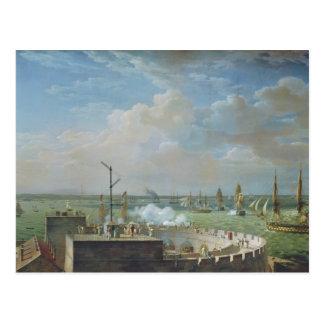 Carte Postale Port de Cherbourg, 1822