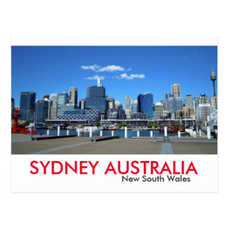 Carte Postale Port de chouchou de Sydney