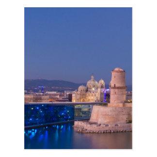 Carte Postale Port de Marseille