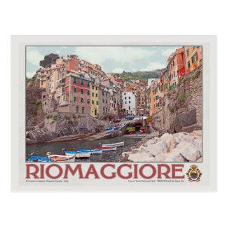 Carte Postale Port de Riomaggiore - sur White.jpg