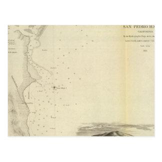 Carte Postale Port de San Pedro, Calif