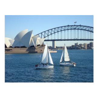 Carte Postale Port de Sydney