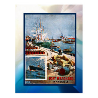 Carte Postale Port Marchand, Marseille