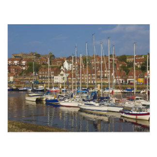 Carte Postale Port, Whitby, North Yorkshire, Angleterre