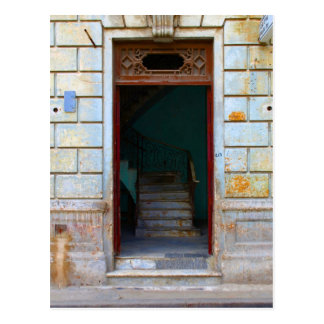 Carte Postale Porte cubaine 2