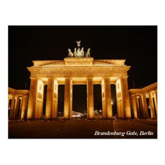 Carte Postale Porte de Brandebourg, Berlin