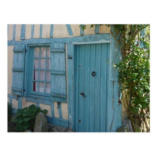 Carte Postale Porte et fenêtre - Door and windows