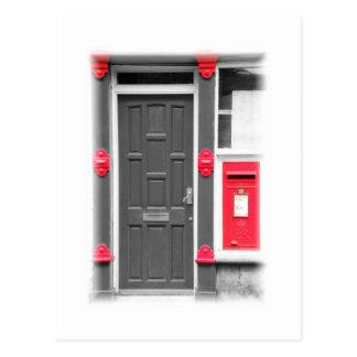 Carte Postale Porte et Letterbox