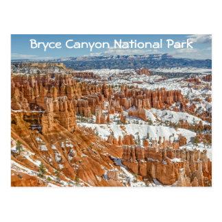Carte Postale Porte-malheurs au parc national de canyon de Bryce