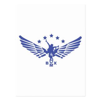 Carte Postale Portée BMX