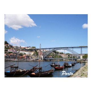 Carte Postale Porto par la rivière de Douro