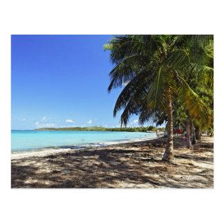 Carte Postale Porto Rico, Fajardo, île de Culebra, sept mers