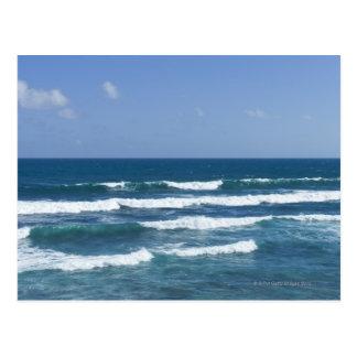 Carte Postale Porto Rico, vieux San Juan, paysage marin