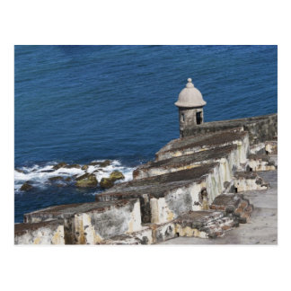 Carte Postale Porto Rico, vieux San Juan, section d'EL Morro