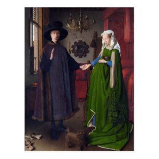 Carte Postale Portrait 1434 de JANV. VAN EYCK- Arnolfini