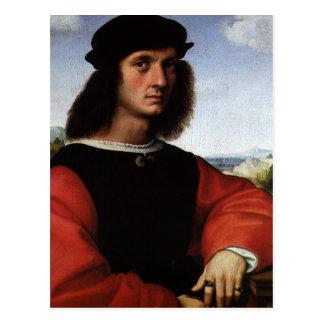 Carte Postale Portrait d'Agnolo Doni par Raphael Sanzio