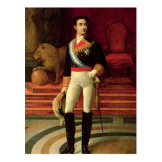 Carte Postale Portrait d'Alfonso XII 1876