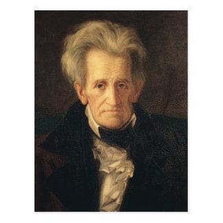 Carte Postale Portrait d'Andrew Jackson