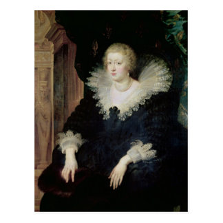 Carte Postale Portrait d'Anne de l'Autriche c.1622
