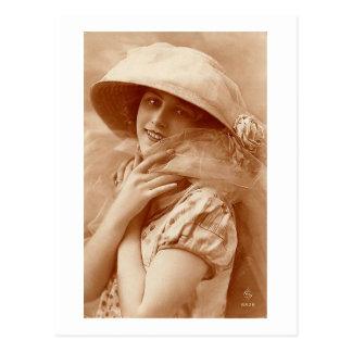 Carte Postale Portrait d'années '20