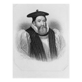 Carte Postale Portrait d'archevêque d'abbé de George de