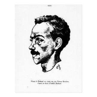 Carte Postale Portrait d'Arthur Rimbaud