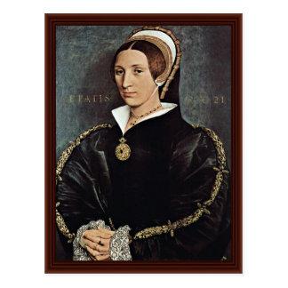 Carte Postale Portrait de 5ème épouse de Catarina Howard du Roi