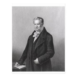 Carte Postale Portrait de baron Alexander von Humboldt