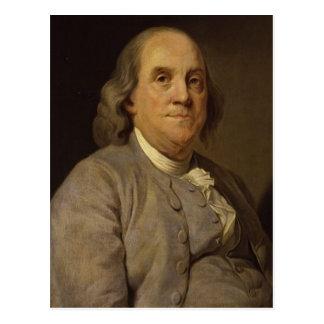 Carte Postale Portrait de Ben Franklin