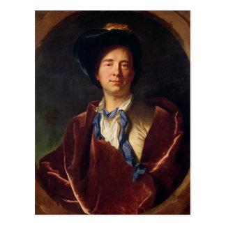 Carte Postale Portrait de Bernard le Bovier de Fontenelle