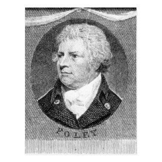 Carte Postale Portrait de capitaine Thomas Foley