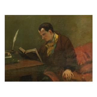 Carte Postale Portrait de Charles Baudelaire 1847