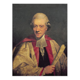 Carte Postale Portrait de Charles Burney, c.1781