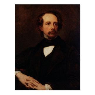 Carte Postale Portrait de Charles Dickens 1855