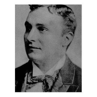 Carte Postale Portrait de Charles Spencer Chaplin, Sr