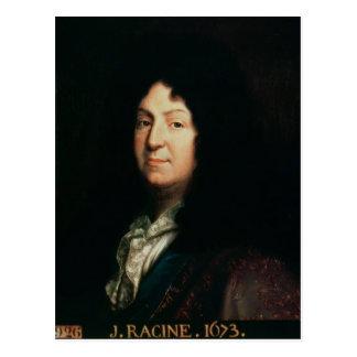Carte Postale Portrait de copie de Jean Racine d'un original